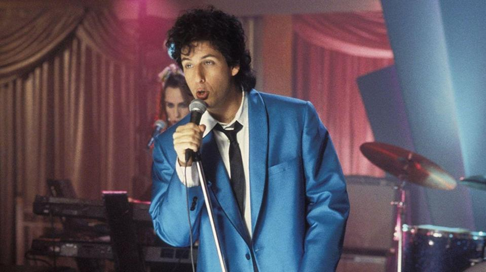 <p><strong><em>The Wedding Singer </em></strong></p><p>Sure, there are a ton of classic mobster movies with N..J ties, plus you've got cult films like <em>Clerks</em> and <em>Garden State—</em>but do any of those movies have a character soon-to-be named Julia Gulia, a young Adam Sandler, and a Broadway musical made from them? Nope! Though we'd really love to see someone take a stab at <em>Clerks</em> musical. </p>