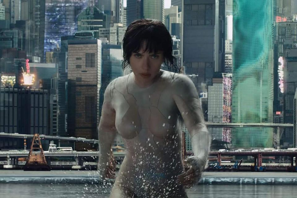 <p>The classic Japanese manga became an iconic anime thriller in 1995, and Hollywood has long had its eyes on a remake. Now in the editing suite, that remake is finally on its way with Scarlett Johansson in the lead role as The Major: a cyborg operative tasked with taking on cyber criminals. (Credits: Paramount Pictures) </p>