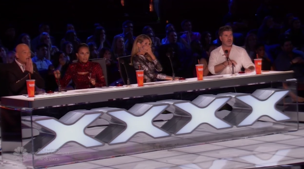 The judges were completely shocked. Source: America's Got Talent, NBC.