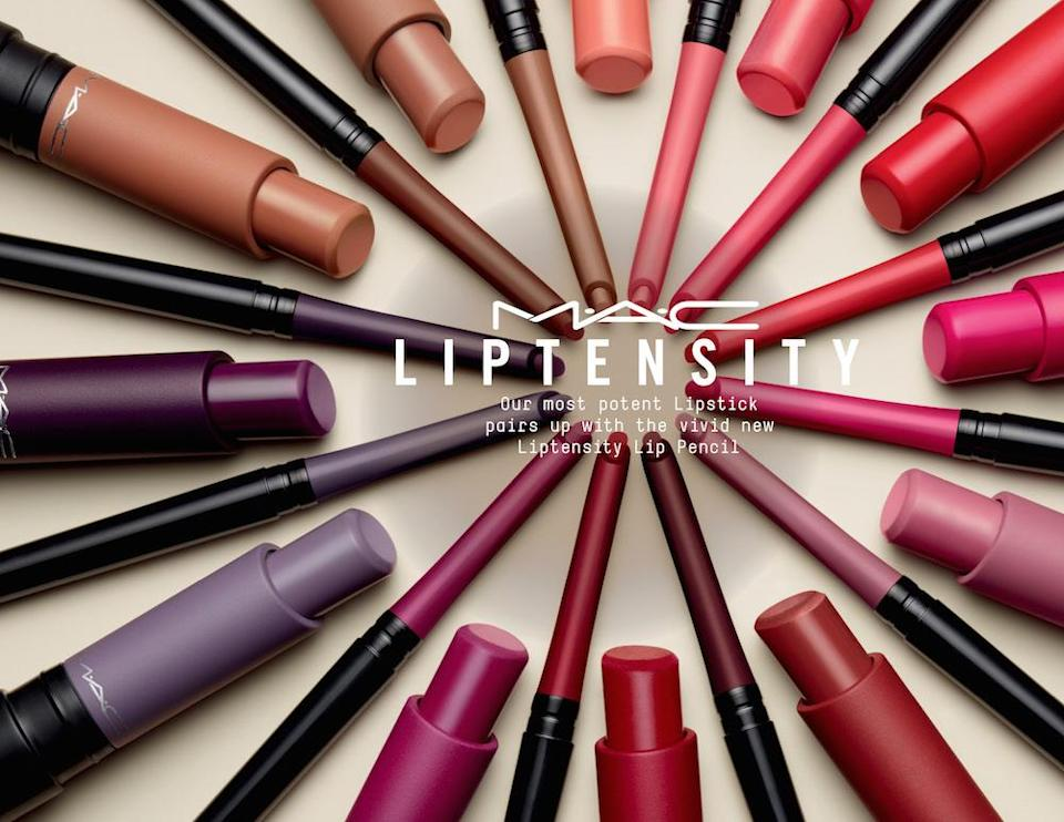 MAC Cosmetics Liptensity collection