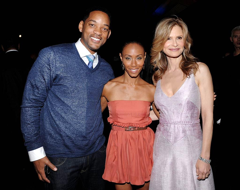 """Will Smith was on hand to support his wife, """"HawthoRNe"""" star Jada Pinkett Smith, and """"The Closer's"""" Kyra Sedgwick at the TNT/TBS upfront presentations in New York Wednesday. Both cable networks revealed their summer 2010 and fall 2011 line-ups at the event. Dimitrios Kambouris/<a href=""""http://www.wireimage.com"""" target=""""new"""">WireImage.com</a> - May 19, 2010"""