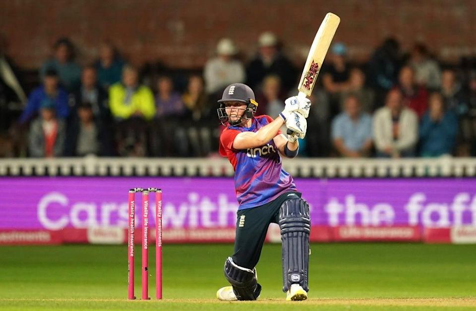 Heather Knight insisted she always thought England were in control as they clinched the T20 series against New Zealand (David Davies/PA) (PA Wire)