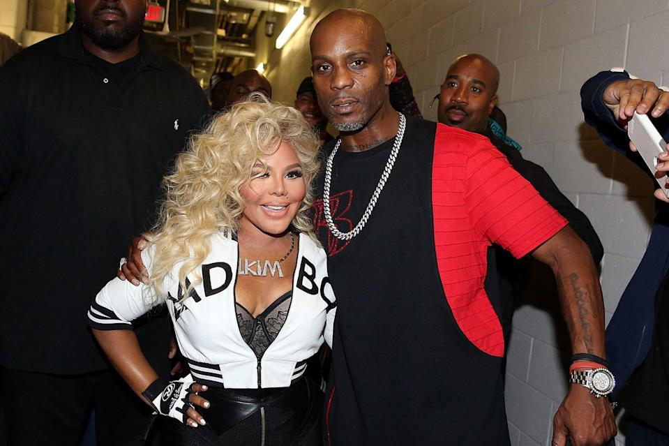 "<p>DMX's appearance on The Lox's 1998 ""Money, Power & Respect"" introduced him to fellow collaborator Lil' Kim, with whom he reunited at the Bad Boy Family Reunion Tour in New Jersey in 2016.</p>"