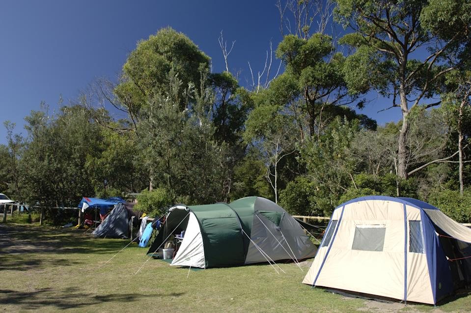 Bristol Point campground at Booderee National Park. Source: AAP