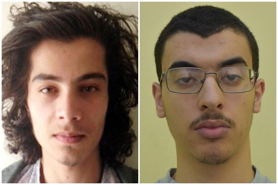 <p>Hashem Abedi (left) and Ahmed Hassan (right) have been charged with assault</p> (Handout)