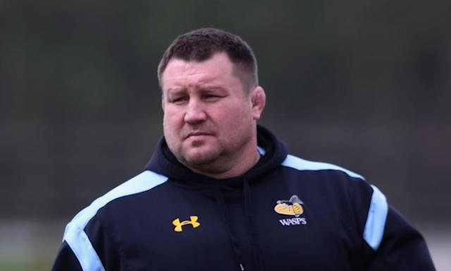 "<span class=""element-image__caption"">Dai Young, Wasps' head coach, says: 'From here on in we have to demonstrate in every game that we have the belly for the fight.'</span> <span class=""element-image__credit"">Photograph: David Rogers/Getty Images</span>"