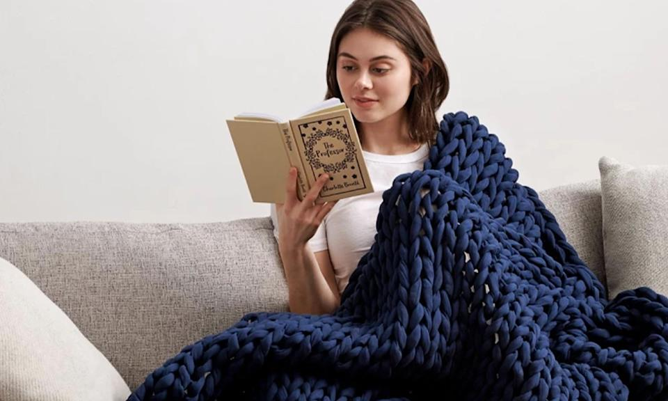 Bearaby Cotton Napper for Engadget's 2021 Back to School guide.