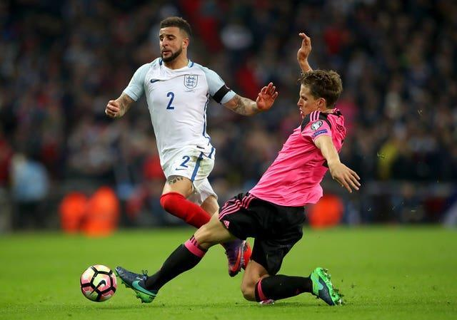 England last faced Scotland in 2018 World Cup qualification