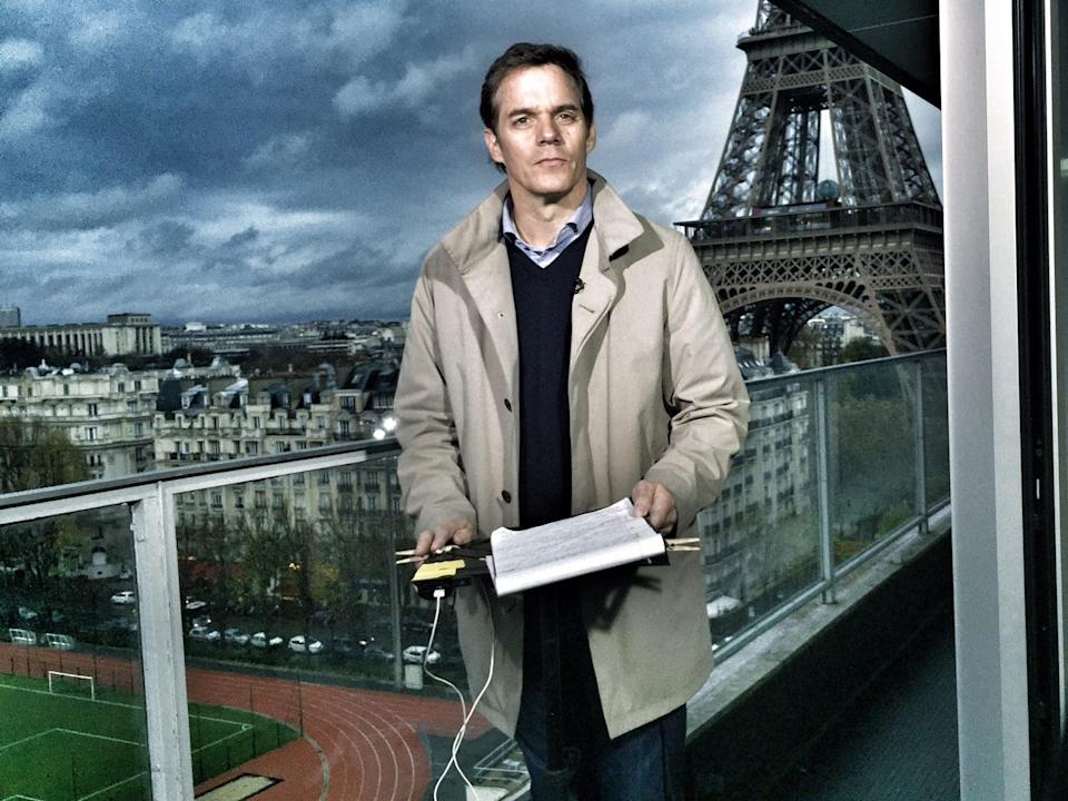 Bill Hemmer reporting from Paris in 2015.