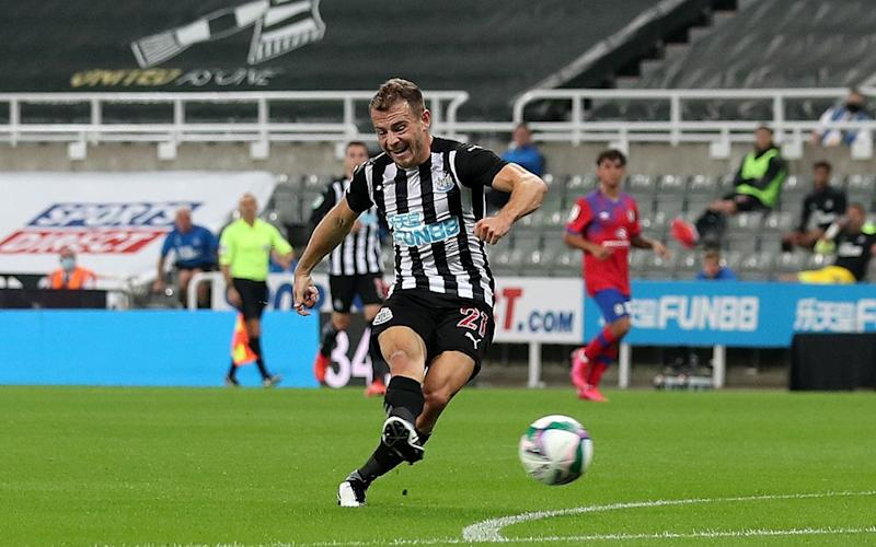 Fraser's goal was the only quality attacking move Newcastle United put together