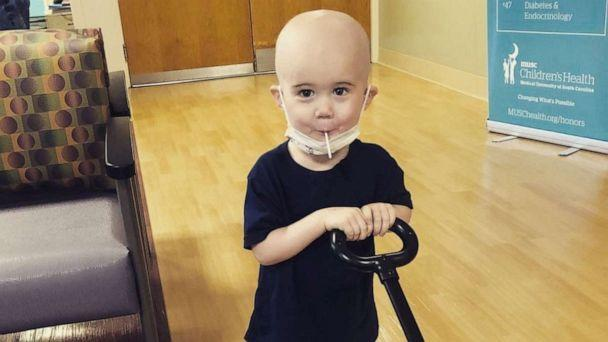 PHOTO: Milo, a 4-year-old from South Carolina with acute lymphoblastic leukemia, requires vincristine, a crucial cancer drug that is in short supply. (Courtesy Marisa Sligh)