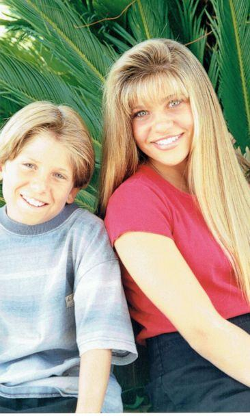 PHOTO: Danielle Fishel pictured with her brother Chris. (Danielle Fishel)