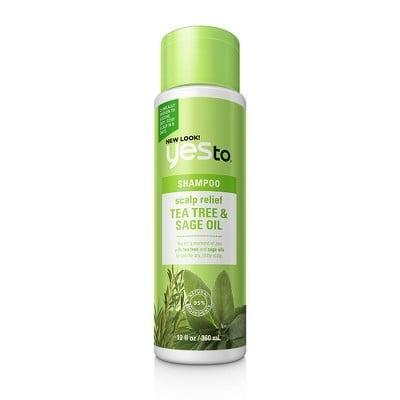 <p>The <span>Yes to Naturals Tea Tree &amp; Sage Oil Scalp Relief Shampoo</span> ($8) is formulated to relieve any itchy and/or irritated scalp while bringing body and bounce to even the finest, flattest hair.</p>