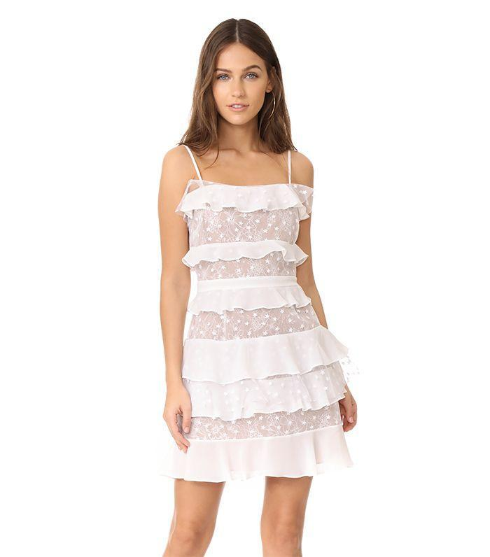 French girls would definitely wear this lacey dresss.