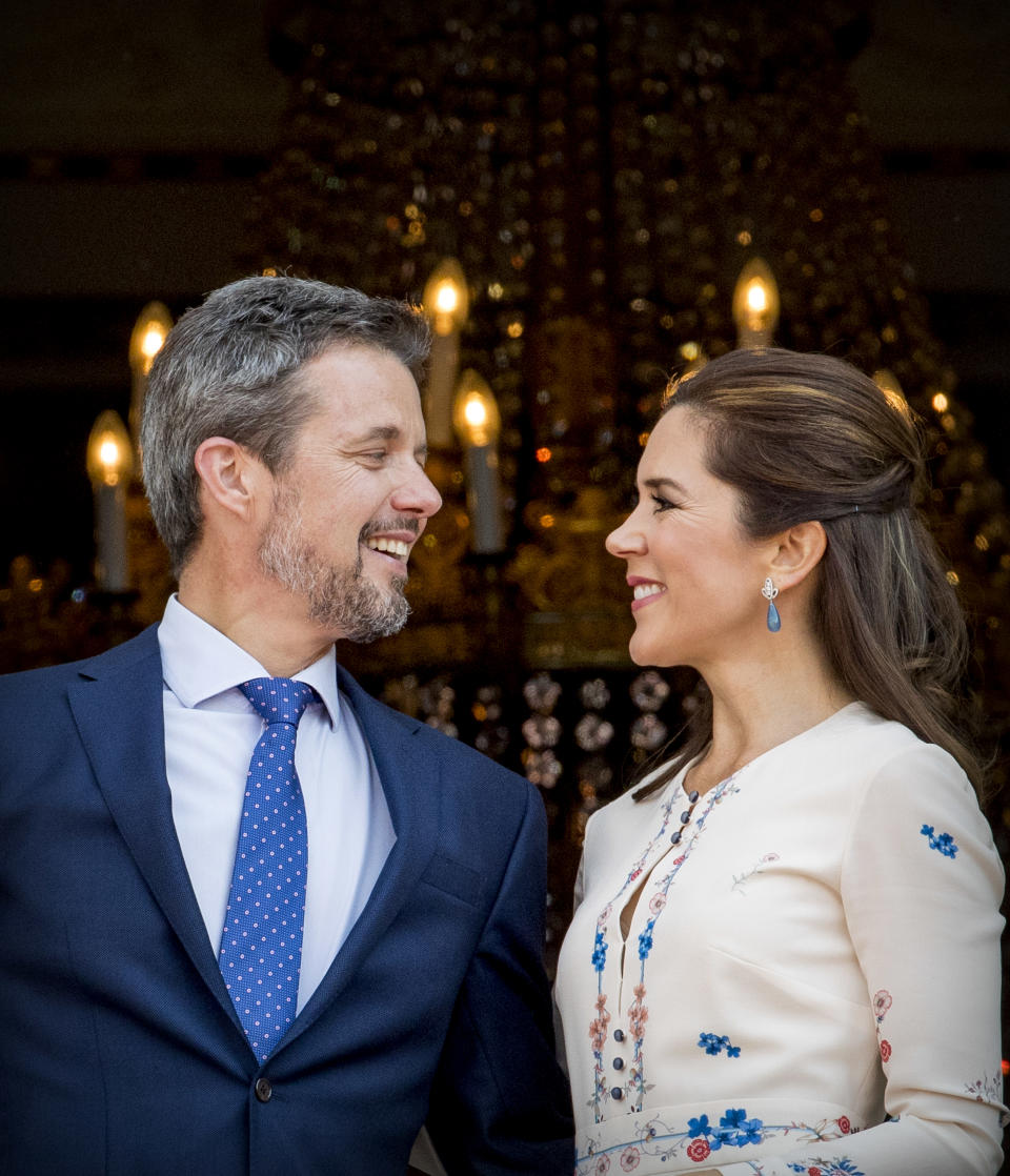 <p>May 2018: The royal couple combined celebrations for their 15th wedding anniversary with Frederik's 50th birthday. Photo: Getty Images.</p>