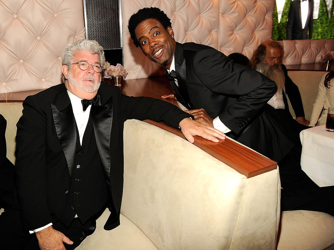 "Hopefully Chris Rock told George Lucas to stop re-releasing the ""Star Wars"" DVDs every 5 minutes.<br><br><a target=""_blank"" href=""http://bit.ly/lifeontheMlist"">Follow Matt Whitfield on Twitter!</a>"