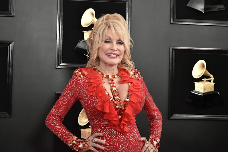 Dolly Parton explains why she's a feminist. (Photo: David Crotty/Patrick McMullan via Getty Images)
