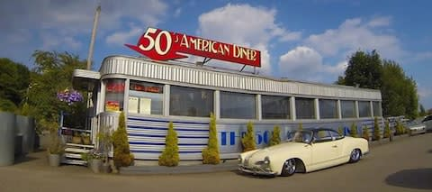 A genuine American diner, now in Derbyshire - Credit: the50samericandiner