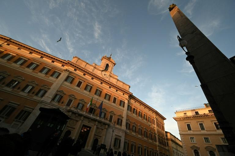 Draghi has been holding talks at the Palazzo Montecitorio, seat of Italy's lower house of parliament