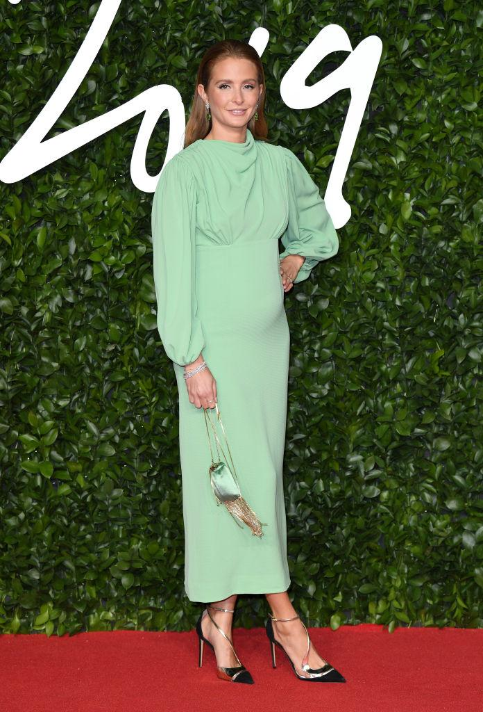 Millie Mackintosh rented an Emilia Wickstead gown from MY WARDROBE HQ [Photo: Getty]
