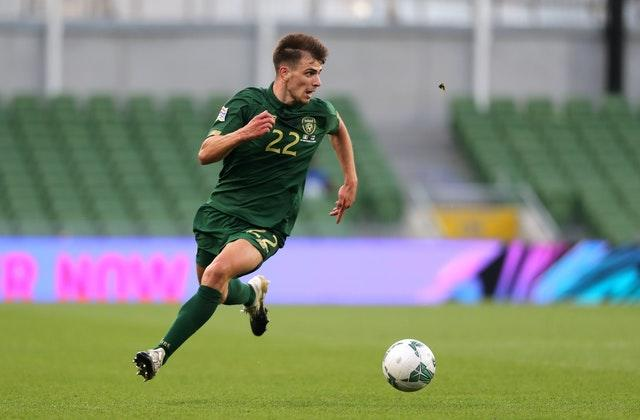 Jayson Molumby made is senior Republic of Ireland debut against Finland in September