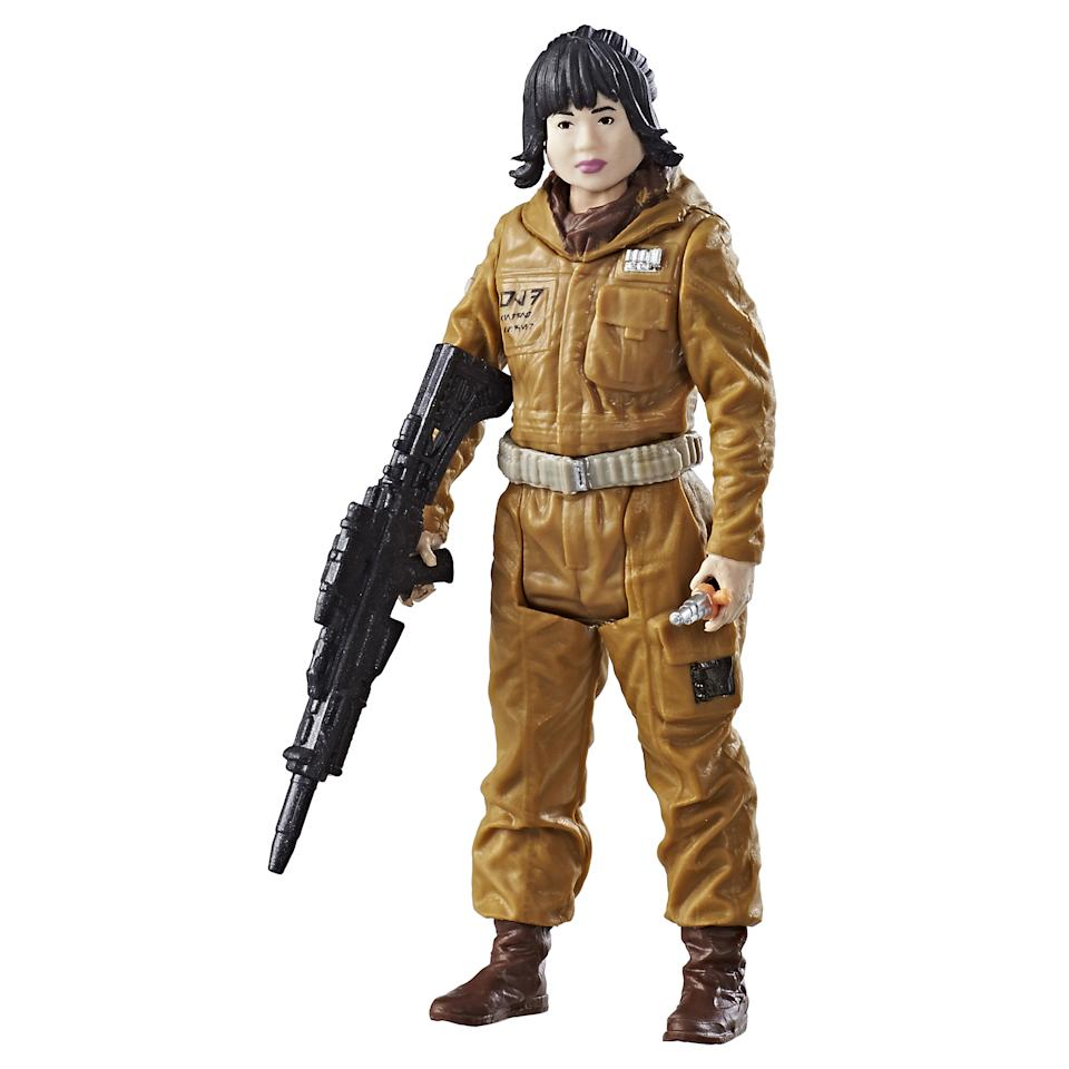 <p>Kelly Marie Tran's character is <em>Last Jedi</em>'s biggest breakout; this $7.99 version, in Hasbro's classic 3.75-inch scale, is perfectly pocket-sized. </p>