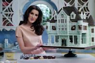 """<p>There's a good chance you won't believe your eyes while watching this baking show. Christine McConnell earned<a href=""""https://www.instagram.com/christinehmcconnell/?hl=en"""" rel=""""nofollow noopener"""" target=""""_blank"""" data-ylk=""""slk:an enormous social following"""" class=""""link rapid-noclick-resp""""> an enormous social following </a>thanks to her gothic-themed creations, right out of a Tim Burton movie. With this Netflix show, McConnell takes us behind-the-scenes into her haunted house cakes. Unlike the other cooking shows on this list, McConnell's has a narrative: She's frequently visited by her (fictional) neighbors, each of whom appears to be aspiring Halloween monsters. The effect is bizarre, entertaining, and a wholly one-of-a-kind show, just like her creations. </p><p><a class=""""link rapid-noclick-resp"""" href=""""https://www.netflix.com/watch/80201868?source=35"""" rel=""""nofollow noopener"""" target=""""_blank"""" data-ylk=""""slk:Watch Now"""">Watch Now</a></p>"""