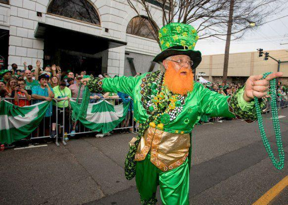 """<p>Don't let the title """"World's Shortest St. Patrick's Day Parade"""" fool you—this town features a two-day celebration to honor the Irish! The party traditionally includes live music and is followed by the big (er, <em>small</em>?) event according to their <a href=""""https://www.facebook.com/pg/ShortestStPats/events/?ref=page_internal"""" rel=""""nofollow noopener"""" target=""""_blank"""" data-ylk=""""slk:Facebook page"""" class=""""link rapid-noclick-resp"""">Facebook page</a>. Believe it or not, you might spot a few celebrities in <a href=""""https://go.redirectingat.com?id=74968X1596630&url=https%3A%2F%2Fwww.tripadvisor.com%2FTourism-g60856-Hot_Springs_Arkansas-Vacations.html&sref=https%3A%2F%2Fwww.countryliving.com%2Flife%2Fg26240477%2Fst-patricks-day-events%2F"""" rel=""""nofollow noopener"""" target=""""_blank"""" data-ylk=""""slk:Hot Springs"""" class=""""link rapid-noclick-resp"""">Hot Springs</a>. Joey Fatone, Kevin Bacon, Bo Derek, and John Corbett have all acted as Grand Marshals for the celebration.</p>"""