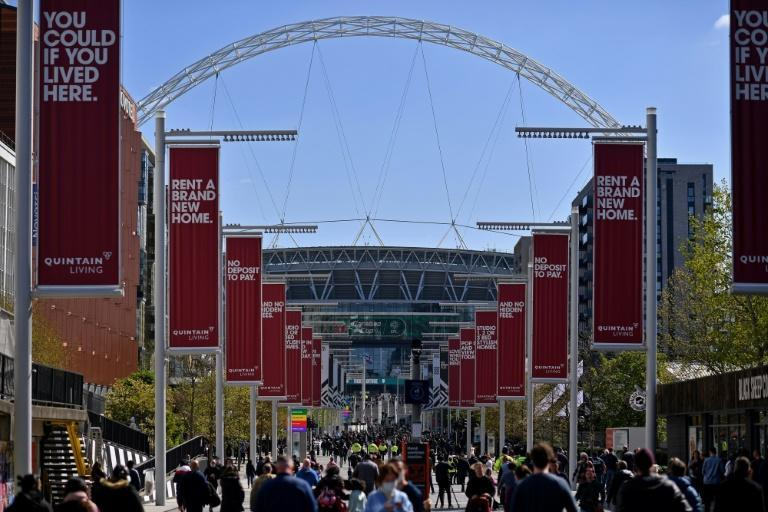 8,000 fans will be in attendance for Sunday's League Cup final between Manchester City and Tottenham at Wembley