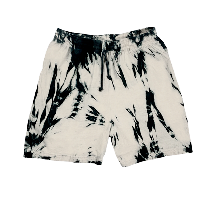 """Why of course we need a pair of tie-dye jersey shorts. <br> <br> <strong>Comeback As A Flower</strong> Oatmeal Shorts, $, available at <a href=""""https://go.skimresources.com/?id=30283X879131&url=https%3A%2F%2Fwww.cbaaf.org%2Fcollections%2Foatmeal%2Fproducts%2Foatmeal-shorts"""" rel=""""nofollow noopener"""" target=""""_blank"""" data-ylk=""""slk:Comeback As A Flower"""" class=""""link rapid-noclick-resp"""">Comeback As A Flower</a>"""