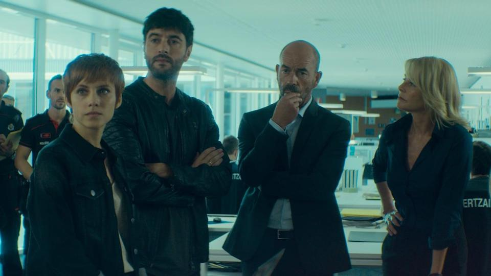 """<p>In this Spanish crime drama, an expert inspector in criminal profiles attempts to hunt down the ritual murderer who has been terrorizing a city in Spain's Basque Country for the past 20 years. </p> <p><a href=""""http://www.netflix.com/title/81038589"""" class=""""link rapid-noclick-resp"""" rel=""""nofollow noopener"""" target=""""_blank"""" data-ylk=""""slk:Watch Twin Murders: The Silence of the White City on Netflix now."""">Watch <strong>Twin Murders: The Silence of the White City</strong> on Netflix now.</a></p>"""