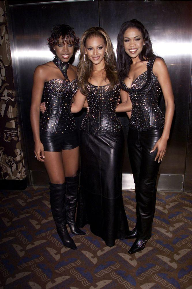 Kelly Rowland, Beyoncé and Michelle Williams in 2000.   Dave Hogan/Getty
