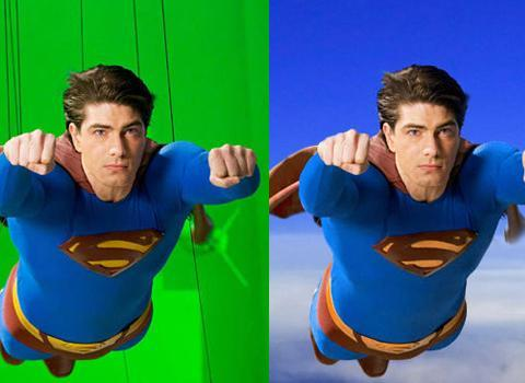 <b>Superman Returns</b> Superman's ability to fly has long been a test for filmmakers of just how believable their special effects are. Brandon Routh did just fine when it came to flying but film lore has it that panicked producers ordered that Routh's superman undies also be CGI-ed to make his bulge less prominent.