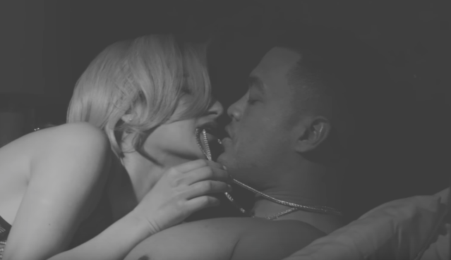 Giancarlo Stanton in the new music video for Lexy Panterra. (YouTube)