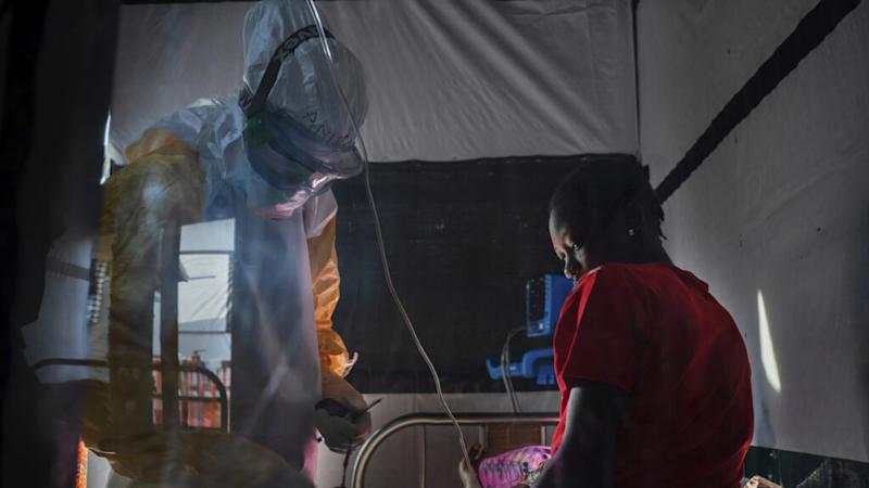 For the first time, clinical trial results show Ebola drugs improve survival rates