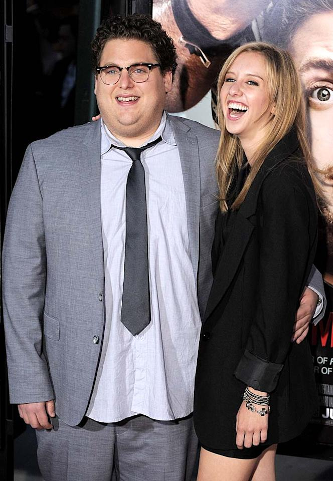 "After losing about 40 pounds to a healthier lifestyle, ""Money Ball"" actor Jonah Hill also shed his girlfriend of three years Jordan Klein. The couple reportedly split in October."