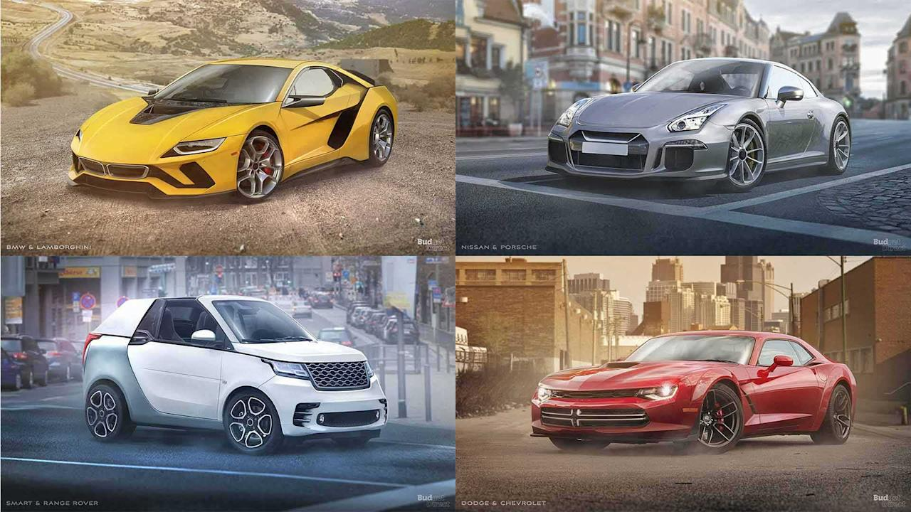 """<p>Car makers often team upto pool their resources on a project. This can range from building practically identical vehicles like the <a rel=""""nofollow"""" href=""""https://uk.motor1.com/toyota/gt86/?utm_campaign=yahoo-feed"""">Toyota GT86</a> and <a rel=""""nofollow"""" href=""""https://uk.motor1.com/subaru/brz/?utm_campaign=yahoo-feed"""">Subaru BRZ</a> to shared platforms like the <a rel=""""nofollow"""" href=""""https://uk.motor1.com/mazda/mx-5/?utm_campaign=yahoo-feed"""">Mazda MX-5</a> and <a rel=""""nofollow"""" href=""""https://uk.motor1.com/fiat/124-spider/?utm_campaign=yahoo-feed"""">Fiat 124 Spider</a>.</p> <p>It can be fun to imagine what would happen if two manufacturers dropped their competitive spirit and decided to work together. The folks atBudget Direct Car Insurance decided to mash up a few brands and rendered the wild results.</p> <p>Click through the slides above to see what happens when design cues from existing models combine together to create a new machine.</p> <p>Source:<a rel=""""nofollow"""" href=""""https://www.budgetdirect.com.au/blog/6-car-manufacturers-collaboration-concepts.html?utm_campaign=yahoo-feed"""">Budget Direct Car Insurance</a></p> <h2>More rendering goodness:</h2><ul><li><a rel=""""nofollow"""" href=""""https://uk.motor1.comhttps://uk.motor1.com/news/282070/mid-engine-dodge-viper-render/?utm_campaign=yahoo-feed"""">This mid-engine Dodge Viper render tops our holiday wishlist</a></li><br><li><a rel=""""nofollow"""" href=""""https://uk.motor1.comhttps://uk.motor1.com/news/279400/lamborghini-countach-modern-render/?utm_campaign=yahoo-feed"""">Lamborghini Countach render is what bedroom posters are made of</a></li><br></ul><br>"""