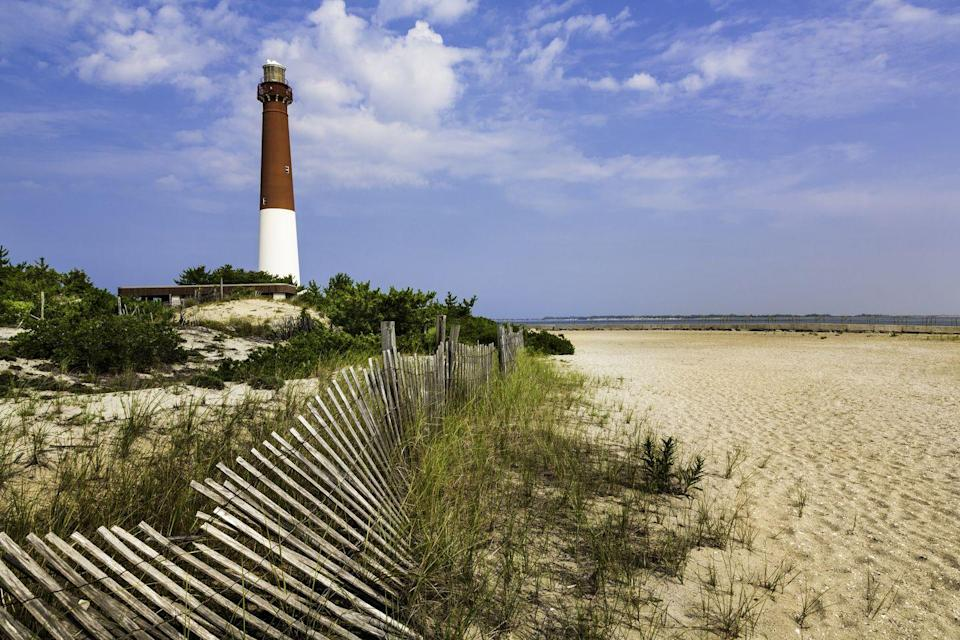<p>New Jersey is known for its miles of coastline, boardwalks, casinos and restaurants. In Barnegat, a quieter beach features its lighthouse.</p>