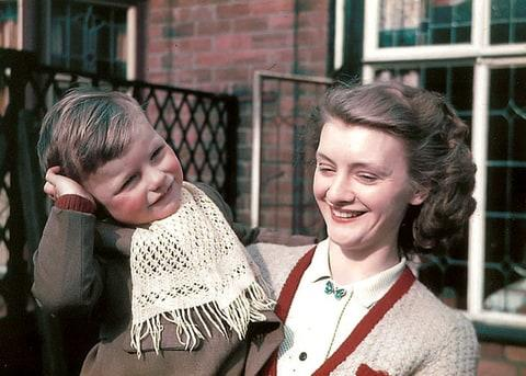 Sting as a three-year-old in Newcastle, England.