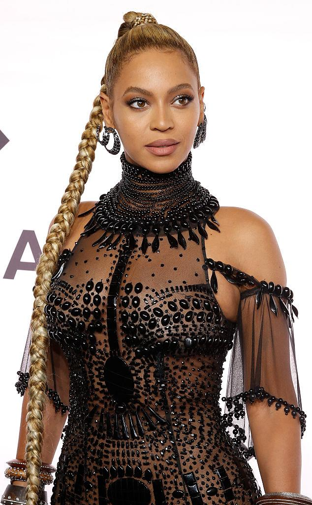 Beyonce Celebrity Hairstyles