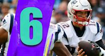 <p>In every key stat, Tom Brady's numbers are down from last season. He's still a quality quarterback, obviously, but we have to ask if this is Brady showing some age or his lack of weapons. (Tom Brady) </p>