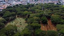 The Vila Formosa cemetery in Sao Paulo, Brazil, is believed to be the largest graveyard in all Latin America, with 1.5 million graves, yet there are fears that the Covid-19 pandemic may exceed its capacity