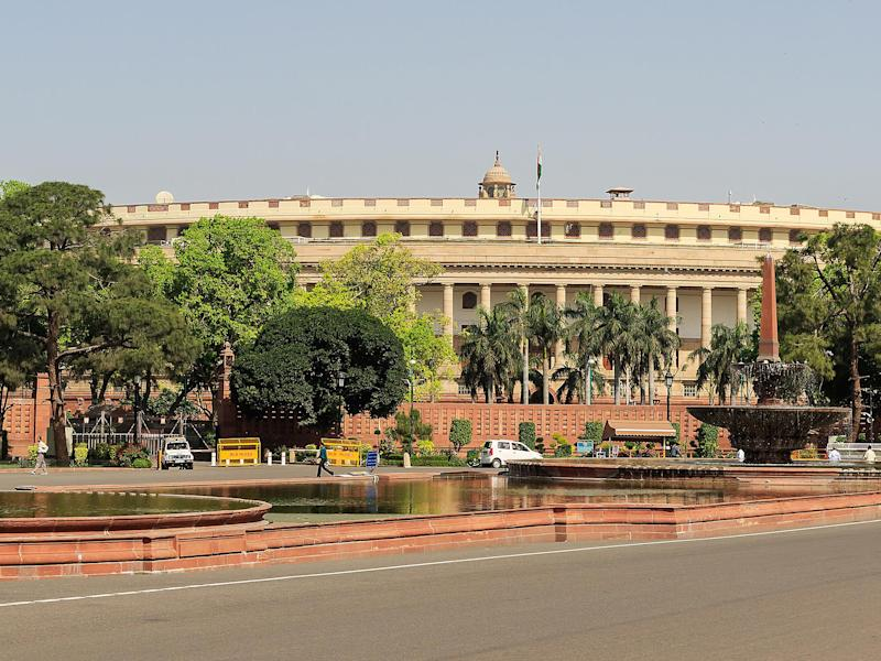Lok Sabha or Indian Parliament building: Creative Commons