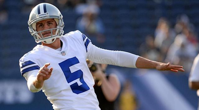 Cowboys Cut Longtime Kicker Dan Bailey