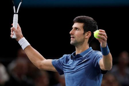 Paris Master: Djokovic beats Cilic , reaches last 4