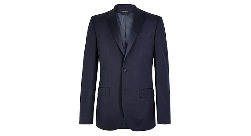 Navy Regular Fit Dinner Jacket