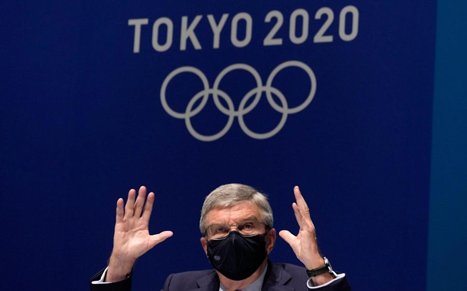 head of the International Olympic Committee, Thomas Bach - SHUTTERSTOCK
