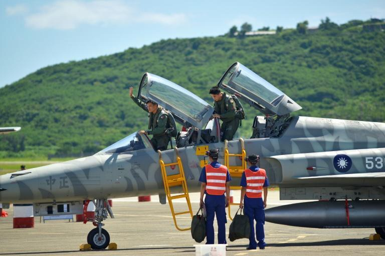 Taiwan's air force said Thursday that a pilot had been killed in routine training, the second such incident in three months