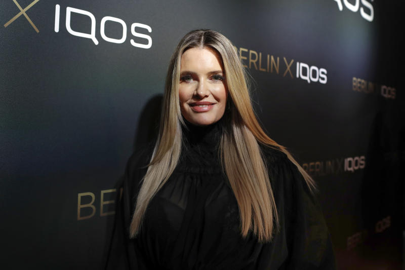 BERLIN, GERMANY - FEBRUARY 19: Mirja du Mont during the IQOS Store opening on February 19, 2020 in Berlin, Germany. (Photo by Franziska Krug/Getty Images for IQOS)