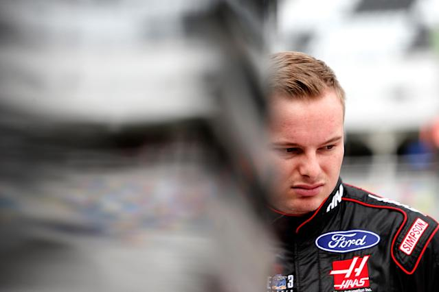 "<a class=""link rapid-noclick-resp"" href=""/nascar/sprint/drivers/3486/"" data-ylk=""slk:Cole Custer"">Cole Custer</a> won the final Xfinity Series race of the 2017 season. (Getty)r"